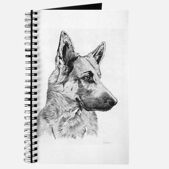 Pup German Shepherd Journal