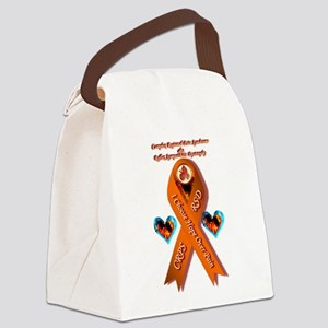 I Choose Hope Over Pain CRPS RSD Canvas Lunch Bag