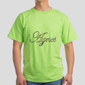 Gold Agnes T-Shirt