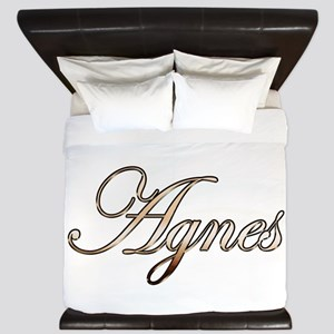 Gold Agnes King Duvet