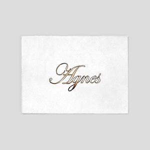 Gold Agnes 5'x7'Area Rug
