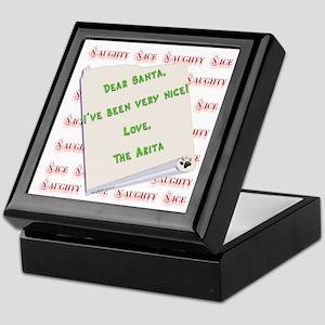Akita Nice Keepsake Box