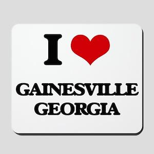 I love Gainesville Georgia Mousepad