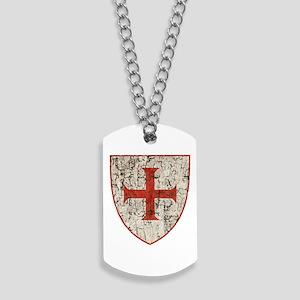 Templar Cross, Shield Dog Tags