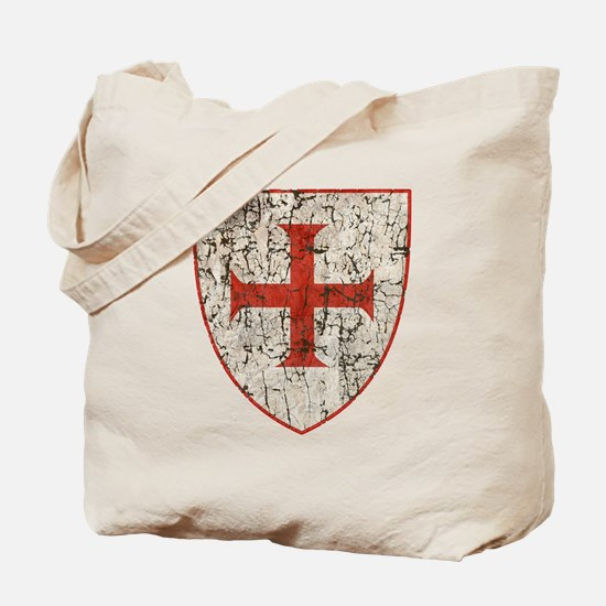 Templar Cross, Shield Tote Bag
