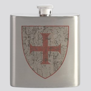 Templar Cross, Shield Flask