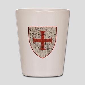 Templar Cross, Shield Shot Glass
