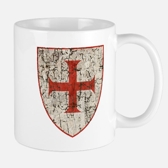 Templar Cross, Shield Mugs