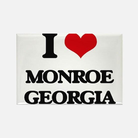 I love Monroe Georgia Magnets