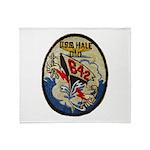 USS HALE Throw Blanket