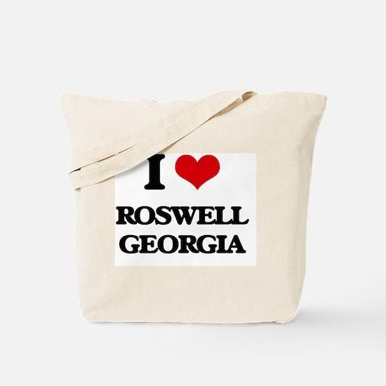 I love Roswell Georgia Tote Bag