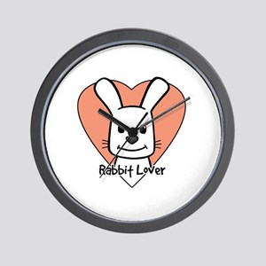 Rabbit Lo Wall Clock