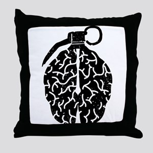 Mind Bomb Throw Pillow