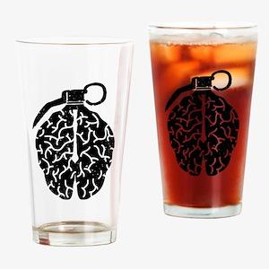 Mind Bomb Drinking Glass