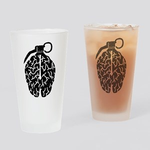 Mind Bomb Drinking Glass