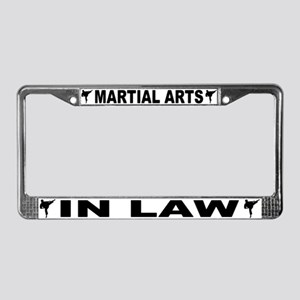 Martial Arts In-Law License Plate Frame