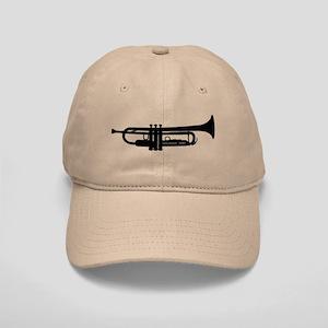 Trumpet Silhouette Cap