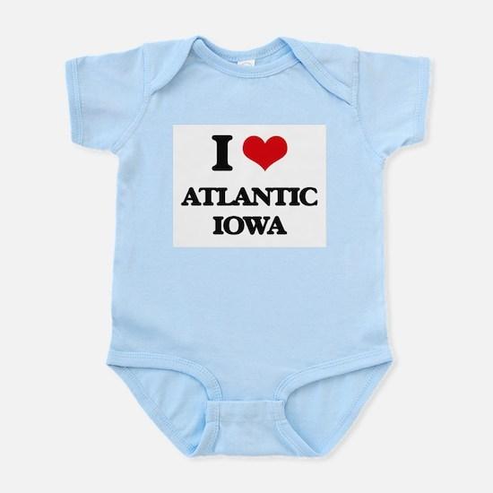 I love Atlantic Iowa Body Suit