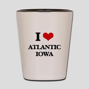 I love Atlantic Iowa Shot Glass