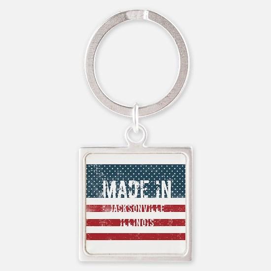 Made in Jacksonville, Illinois Keychains