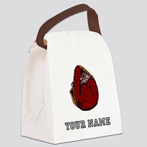 Catchers Mitt (Custom) Canvas Lunch Bag
