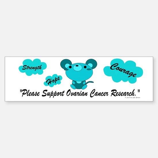 Teal Mouse 1 (OC) Bumper Bumper Bumper Sticker