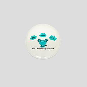 Teal Mouse 1 (OC) Mini Button
