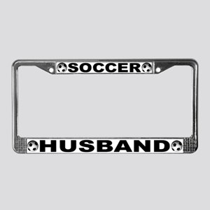 World Cup Soccer Husband License Plate Frame