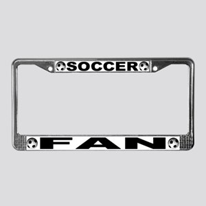 World Cup Soccer Fan License Plate Frame