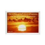Psalm 113:4 Rectangle Magnet (10 pack)