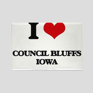 I love Council Bluffs Iowa Magnets