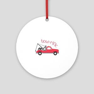 Tow-Rific Ornament (Round)