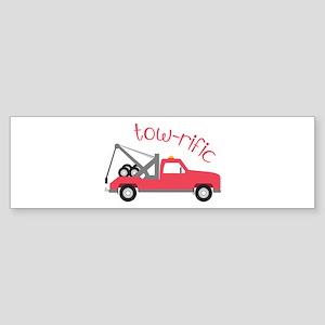 Tow-Rific Bumper Sticker