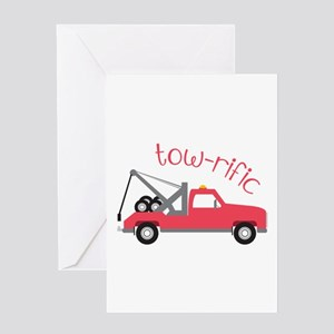 Tow-Rific Greeting Cards
