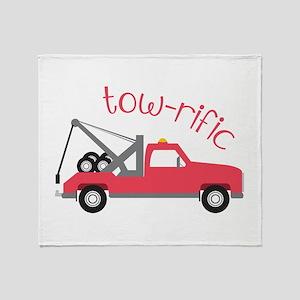 Tow-Rific Throw Blanket