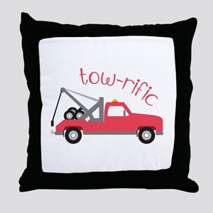 Tow-Rific Throw Pillow