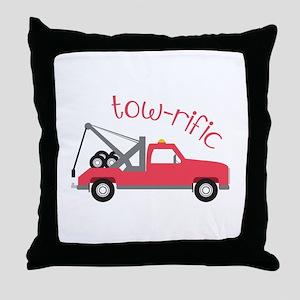 Tow-Rific Throw Pillow
