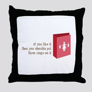 Like It Throw Pillow