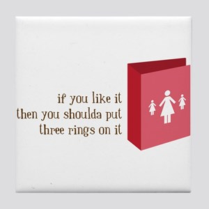 Like It Tile Coaster
