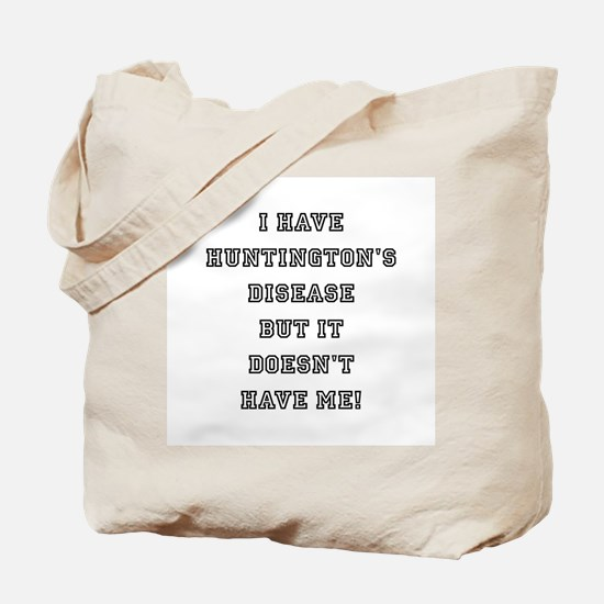 HUNTINGTON'S DISEASE Tote Bag