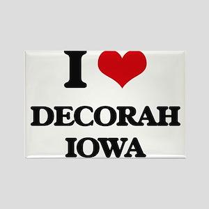 I love Decorah Iowa Magnets