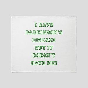 PARKINSON'S DISEASE Throw Blanket