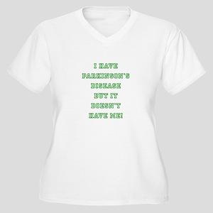 PARKINSON'S DISEA Women's Plus Size V-Neck T-Shirt