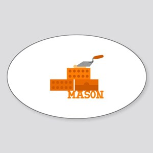Mason Sticker