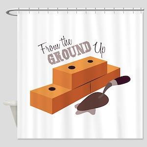 Ground Up Shower Curtain