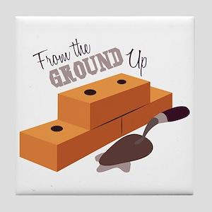 Ground Up Tile Coaster