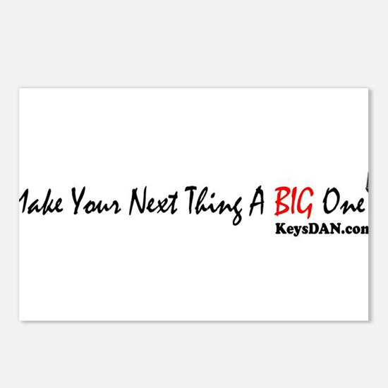 Make Your Next Thing A Big On Postcards (Package o