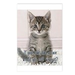 Cat Coat Postcards (Package of 8)