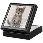 Cat Coat Keepsake Box