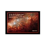 Psalm 136:5 Rectangle Magnet